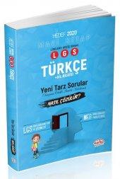 Editör Lgs Türkçe Yeni Tarz Sorular Nasıl Çözülür