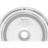 Baseus Donut Qi Beyaz Wireless Hızlı Şarj Cihazı