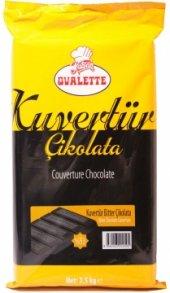 Ovalette Kuvertür 53 Bitter Çikolata 2.5 Kg