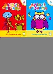 Yıldızlı Boyama Kitabı Seti 4 Kitap Ema Yayınları