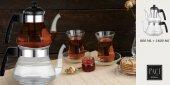 Bayev Isıya Dayanıklı Küçük Boy Cam Çaydanlık-400629