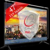 47 119 Tv Koruma Camı Tv Ekran Koruyucu Mobays