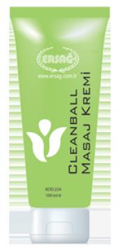 Ersağ Clean Ball Masaj Kremi 100ml.bitkisel Sağlık Kaynağı 224