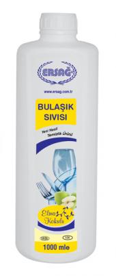 Ersağ Bulaşık Sıvısı (Elma Kokulu) 1000 Ml. Bitkisel Ürün 236