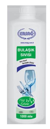 Ersağ Bulaşık Sıvısı 1000 Ml .bitkisel Ürün Ücretsiz Kargo 118