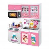 Oyuncak 2' Li Modern Mutfak Seti (Işıklı)