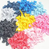 Mini Puanlı Grogren Fiyonk Çeşitli Renklerde 50 Li Paket