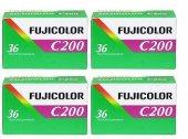 Fujifilm C200 36'lık Renkli Negatif Film (4...