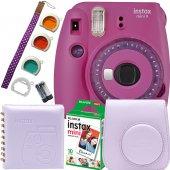 Fujifilm İnstax Mini 9 Ekonomik Kit (Mor) 10'lu...