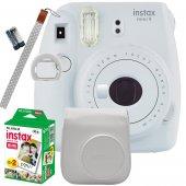Fujifilm İnstax Mini 9 Ekonomik Kit (Beyaz)...