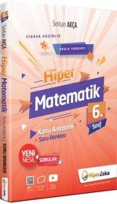 Hiper Zeka 6. Sınıf Matematik Konu Anl. Soru Bankası Serkan Akça Yeni