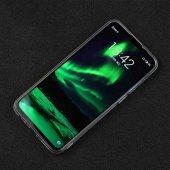 Meizu 16XS Kılıf Süper Silikon Kapak + Cam Ekran Koruyucu Hediye-2
