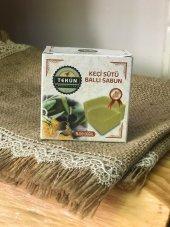 Zeytinyağlı Keçi Sütlü Ballı Sabun (100 Gr Tekli)