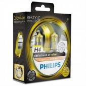 Philips Ampul12v H4 60 55w 60 Daha Fazla Işık Sarı Renk