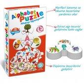Alfabe Puzzle 29 Harf 128 Parça Eğitim Seti