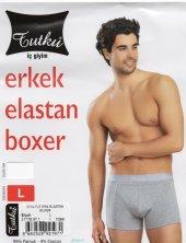 10 Lu Paket Tutku Erkek Likra Boxer Dar Kesim