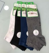 4 Lü Paket Dündar Erkek Bambu Dikişsiz Patik Çorap