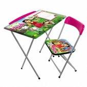 Furkan Toys Heidi Katlanabilir Masa Sandalye Seti ...