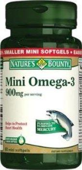 Natures Bounty Omega 3 900 Mg 60 Mini Kapsül