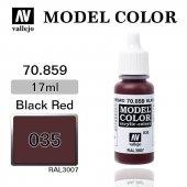 70859 17 Ml. (35) Black Red Matt Model Color