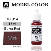 70814 17 Ml. (34) Umber Red Matt Model Color