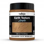 26219 200 Ml. Brown Earth Texture