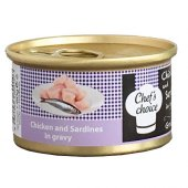 Chefs Choice Tavuklu Sardunyalı Tahılsız Kedi...
