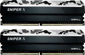 GSKILL SniperX 16GB (2X8) DDR4 3000Mhz CL16 1.35V Gri Kamuflaj (F4-3000C16D-16GSXWB)-2