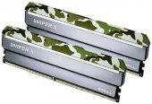 GSKILL SniperX 16GB (2X8) DDR4-3200Mhz CL16 Orman Kamuflaj 1.35V (F4-3200C16D-16GSXFB)