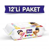 Sleepy Pepee Islak Havlu 12x90 Lı 12 Paket 1080...