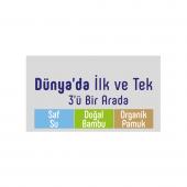 3lü Sleepy Natural Yenidoğan Islak Pamuklu Havlu 3X40 360 Yaprak-3