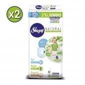 Sleepy Natural Külot Bez 6 Beden Xlarge 2X2Lİ Jumbo 80 Adet-2