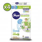 Sleepy Natural Külot Bez 5 Beden Junior 4X2Lİ Jumbo 192 Adet