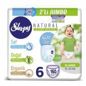 Sleepy Natural Külot Bez 6 Beden Xlarge 4X2Lİ Jumbo 160 Adet