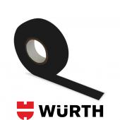 Würth Bez Bant Tüylü Siyah 19 Mm X 15 M Yüksek Sıcaklık Dayanıklı