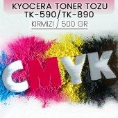 Kyocera Tk 590 Tk 890 Kırmızı 500 Gr Muadil Toner Tozu Fsc5250