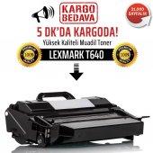 Lexmark T640 Muadil Toner Wb 64015ha T640 T642 T644 X642 X644 X