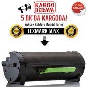 Lexmark Mx510 Mx510de 605x Muadil Toner Np 60f5x00
