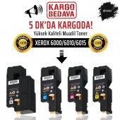 Xerox 6000 6010 6015 Siyah Muadil Toner Wb 106r01634 Phaser 600