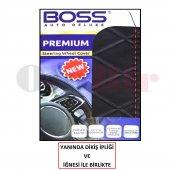 Boss Premium Deri Direksiyon Kılıfı Set Dikişli...
