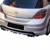 Opel Astra H Hb Arka Difüzör 2006 2012 Arası...