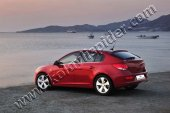 Chevrolet Cruze Krom Cam Çıtası Hb 4 Parça