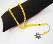 Sarı Sıkma Kehribar Gümüş Kral Zincirli 1.Kalite Çam Kokulu-2