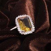 Baget Zultanit Bayan Gümüş Yüzük-3