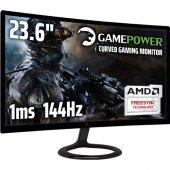 Gamepower Gpr24c144 23.6inc 1ms (Display+hdmı+dvı)...