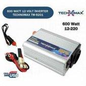 Oto Çakmağından 220v Çıkış Veren Dönüştürücü Dc Ac Güç Dönüştürücü 600w