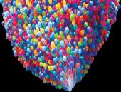 Renkli Balon 50 Adet