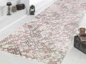 Sarar Halı Mozaik Desen Kaydırmaz Taban Halı Yolluk