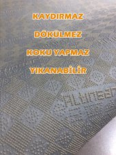 Sarar Halı Vizon Kaydırmaz Taban Halı Yolluk-2