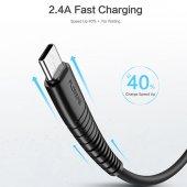 Samsung Galaxy A40 Type-C Usb Hızlı Şarj Data Powerbank Kablo 1 m-3